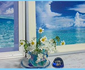 【東玄関】の風水*「朝」をイメージさせる爽やか玄関マット+3アイテム