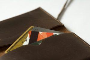 ブラウンのお財布