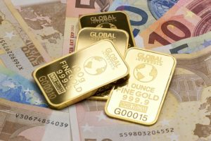 お金を集めるゴールド
